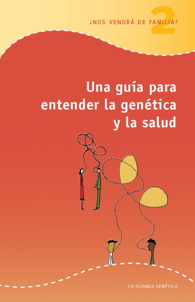 Screenshot of A Guide to Genetics and Health (booklet 2) in Spanish