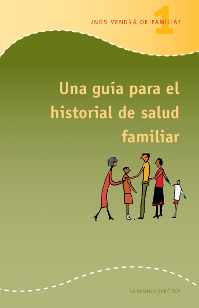 Screenshot of A Guide to Family Health History booklet in Spanish