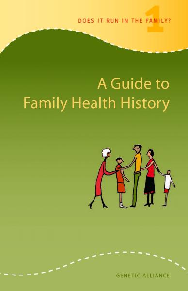 Screenshot of A Guide to Family Health History in English