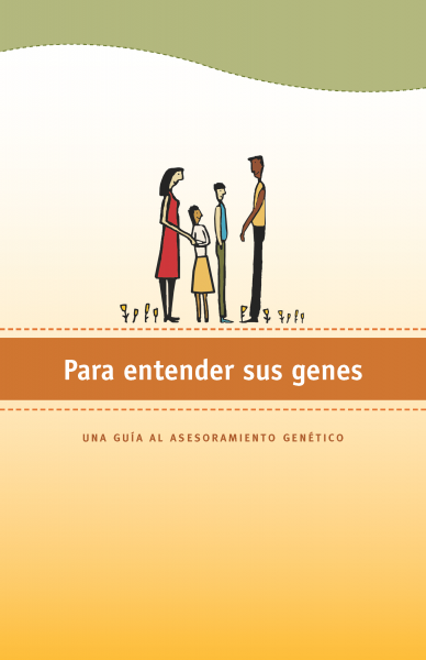 Screenshot of Making Sense of Your Genes booklet in Spanish